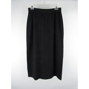 Worthington Polyester Pull-On Ruched Full Skirt